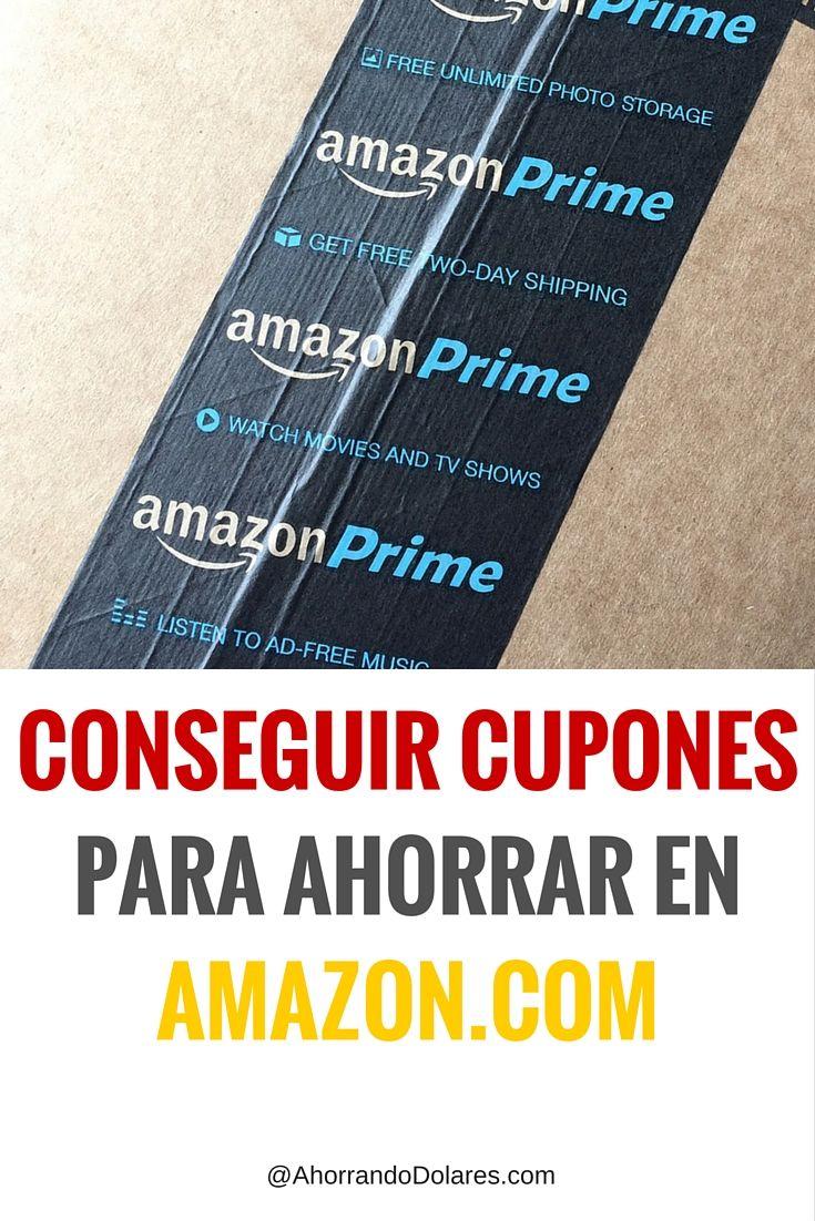 Ahorra dinero cuando compras por Amazon usando estos cupones de descuento. Tips para ahorrar.