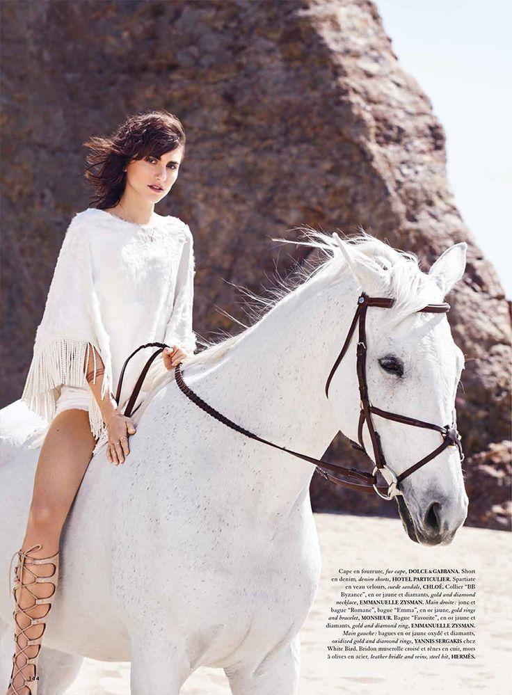 malibu langley fox hemingway for air france madame june july 2015 horses pinterest. Black Bedroom Furniture Sets. Home Design Ideas