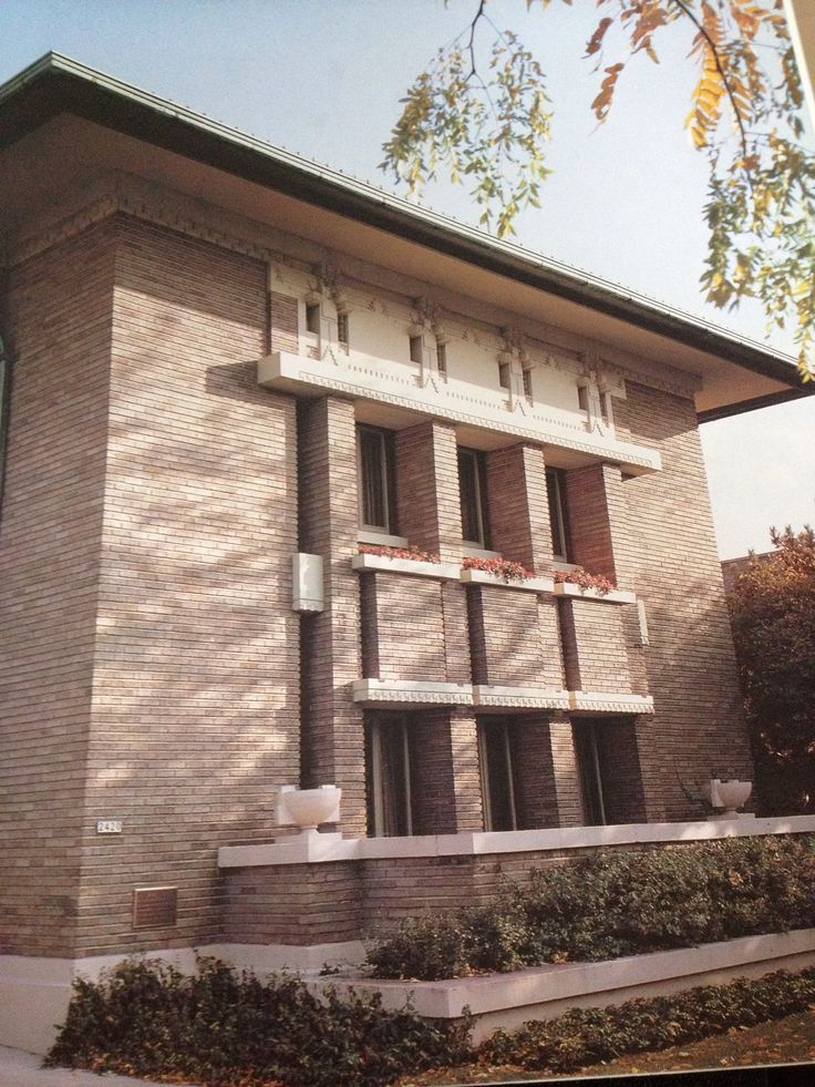 17 best images about frank lloyd wright on pinterest for Frank lloyd wright prairie house