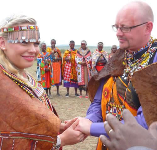 Best Kenya Wedding Images On Pinterest Kenya Africa And - Maasai tribe wild animals attend wedding kenya