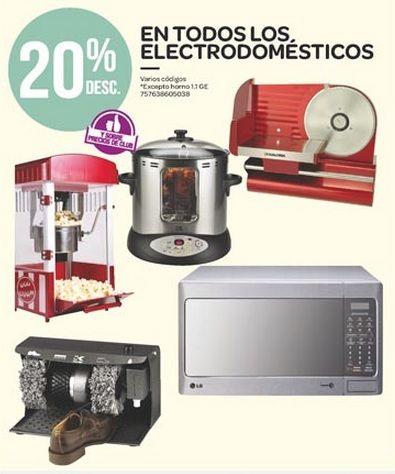 Ofertas Buen Fin: 20% en todos los Electrodomésticos, en City Club. Buen Fin, del 14 al 17 noviembre de 2014. #Promo #BuenFin