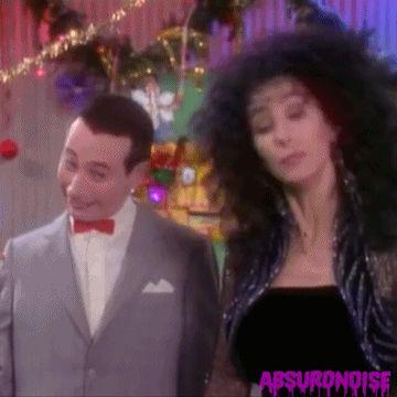 #80s #absurdnoise #cher #80s tv #80s s #pee wee herman