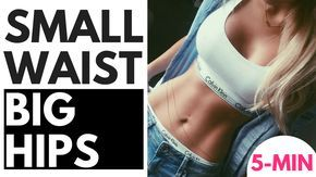 Discover how to get a smaller waistline and bigger hips naturally! ONE routine for a small waist, big hips and big booty. Try it NOW and see results by...