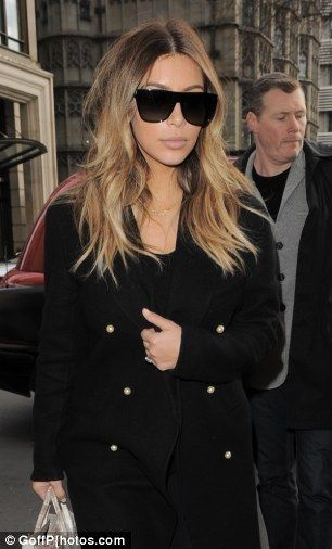 Kim Kardashian jets out of London after just FOUR HOURS in town - Kim Kardashian Style