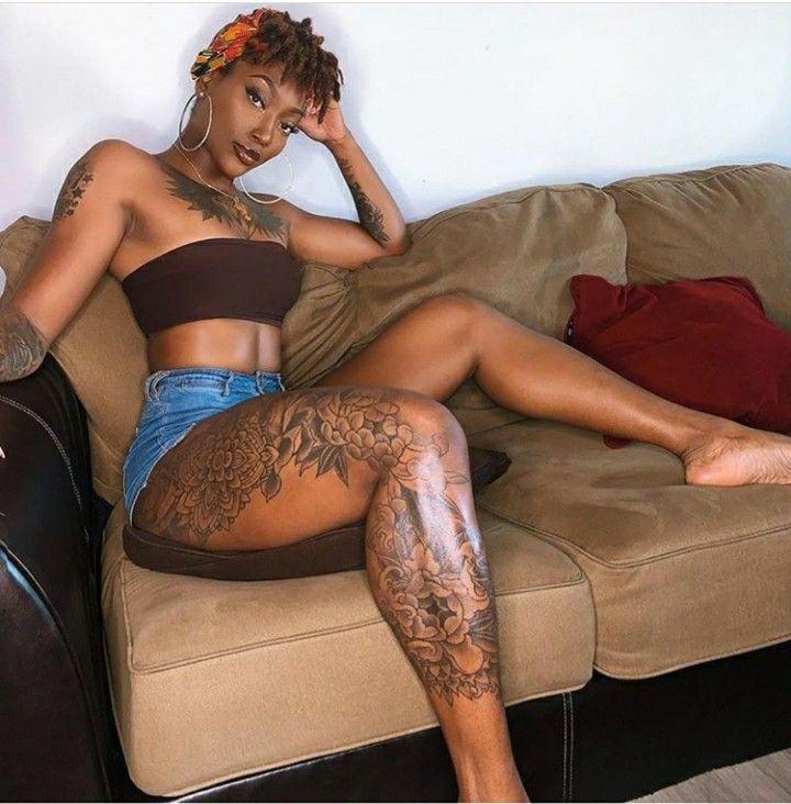 Ebony Light Skin Blowjob