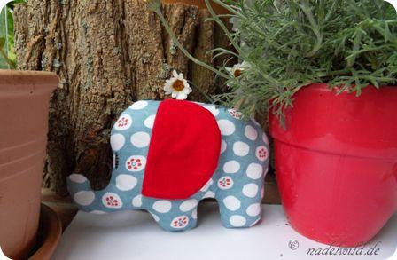 Kostenloses Schnittmuster am Freitag #14: Schnittmuster für einen Elefanten
