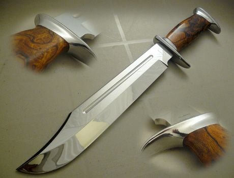 Custom made hunting knives for sale from Coteknives.ca