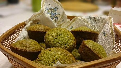 Medvehagymás muffin málé