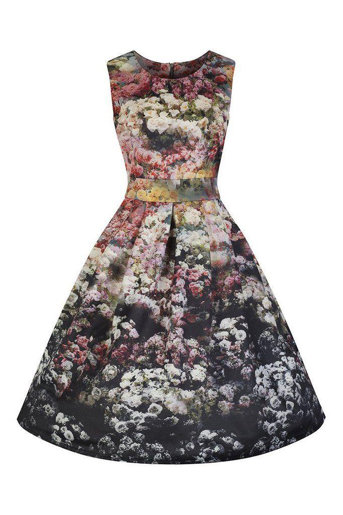 Multi Floral Audrey Swing Dress