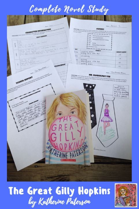 9 best the great gilly hopkins images on pinterest close reading the great gilly hopkins complete novel unit low prep answer keys and teacher notes fandeluxe Choice Image