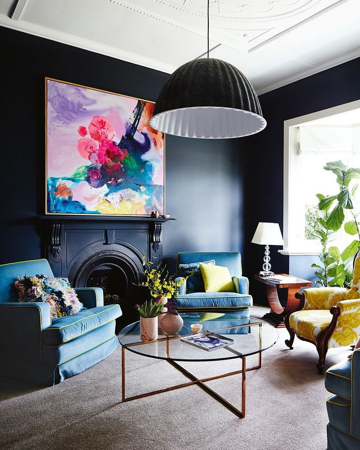 """3,071 Likes, 41 Comments - Inside Out (@insideoutmag) on Instagram: """"Our April cover home is a masterclass in bold and beautiful use of colour. If you love this sitting…"""""""