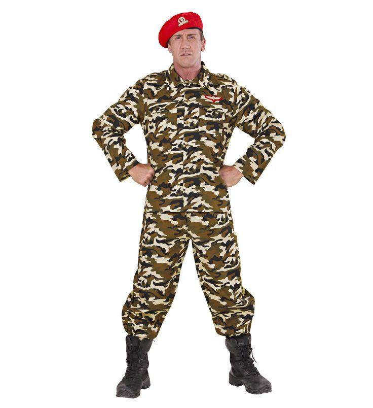 Disfraz de Soldado  Incluye: Casaca, pantalon y boina http://www.disfracessimon.com/disfraces-militares-y-soldados/2702-disfraz-soldado-p-2702.html