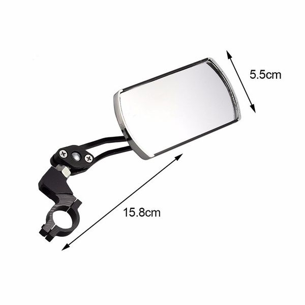 Outdoor Bicycle Mirror Bike Accessories Rear View Handlebar Flexible Safety Back