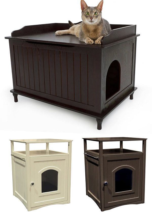 How To Hide Your Cat S Litter Box For The Home Pinterest Cats And Hidden Bo