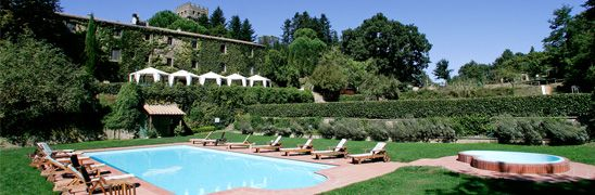 Castello di Santa Cristina in Bolsena (southern tuscany) says room are around €65