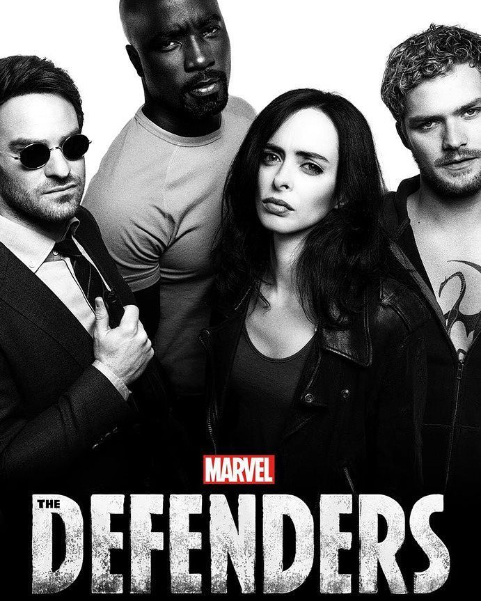 New poster of Netflix Defender