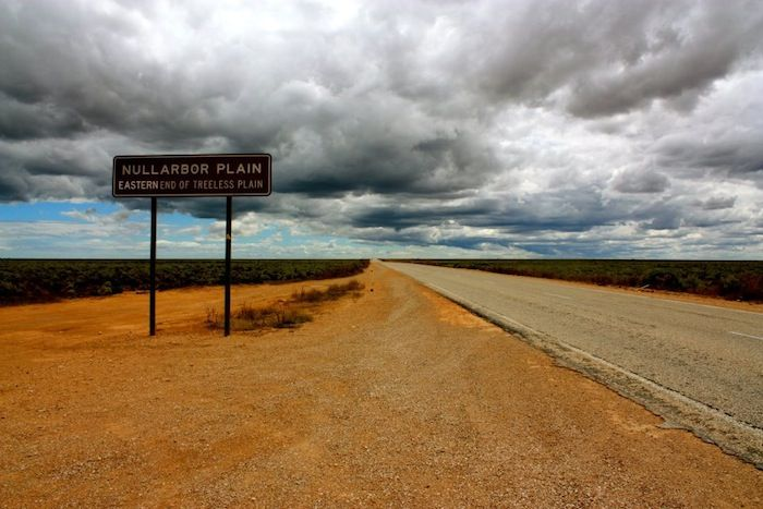 Nullarbor road trip in Australia