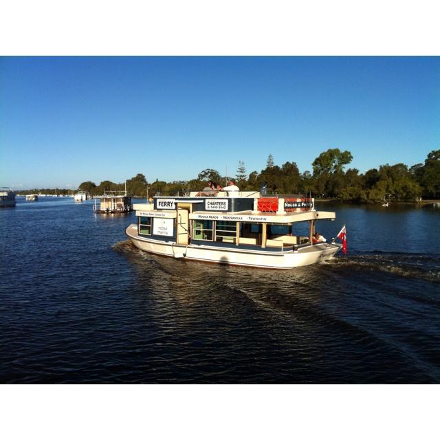 Cruising on Noosa River