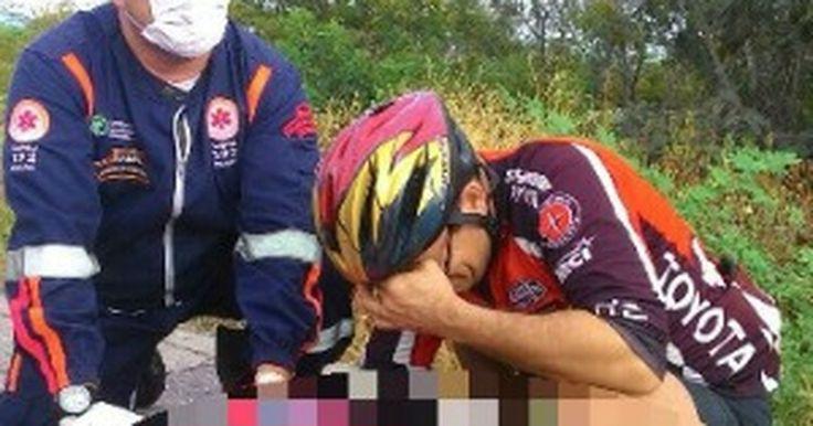 Ciclista de capacete morre no Ceará após tombo durante passeio