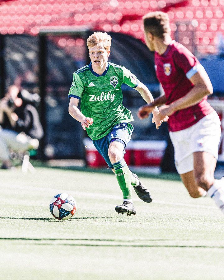 Ethan Dobbelaere Austin Brummett Two Soundersacademy Players Named To The Top 20 Mls Academy Prospects List By Th In 2020 Sounders Seattle Sounders Baseball Cards