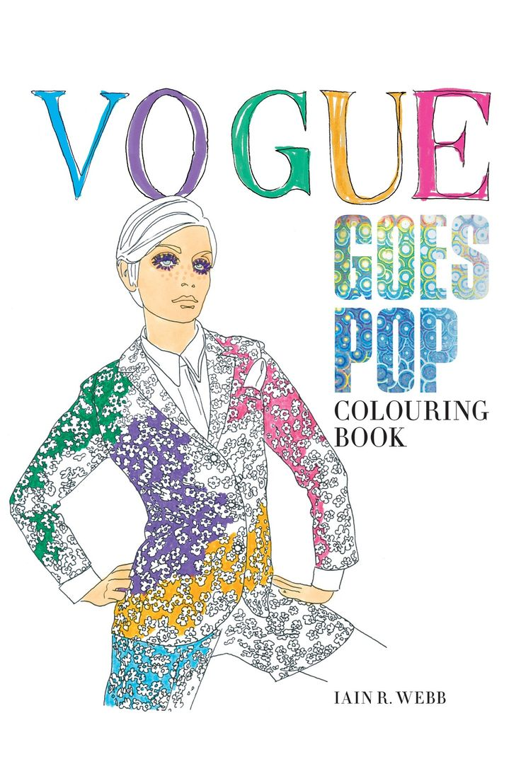 The coloring book review colin quinn - Following The Success Of The First Vogue Colouring Book Last Year A Second One Is
