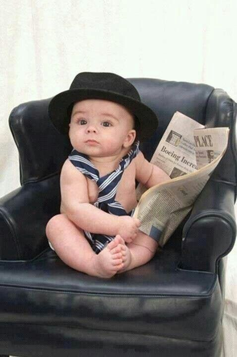 Baby with the bowler hat  e0bbfe1982c