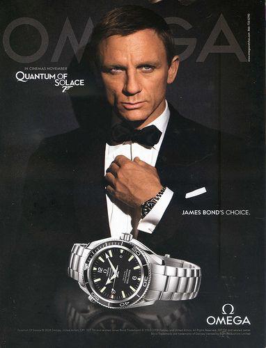 Omega James Bond Advertisement by monikalel42, via Flickr