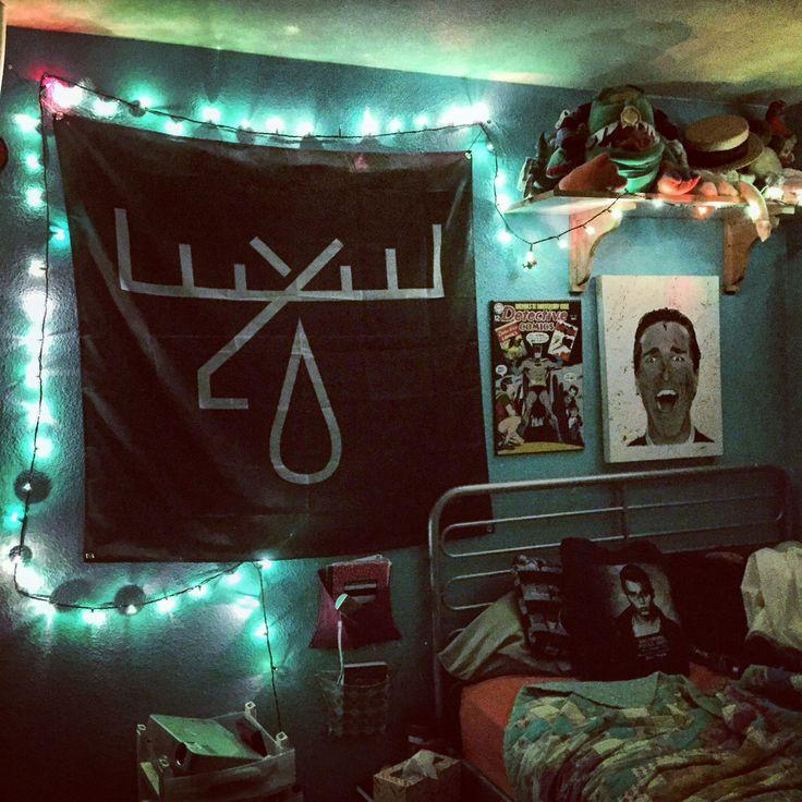 ... op Pinterest - Slaapkamer Met Rotsmotief, Punk Kamer en Rotskamer