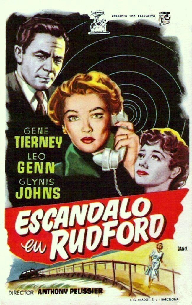"Escándalo en Rudford (1953) ""Personal Affair"" de Anthony Pelissier - tt0046181"