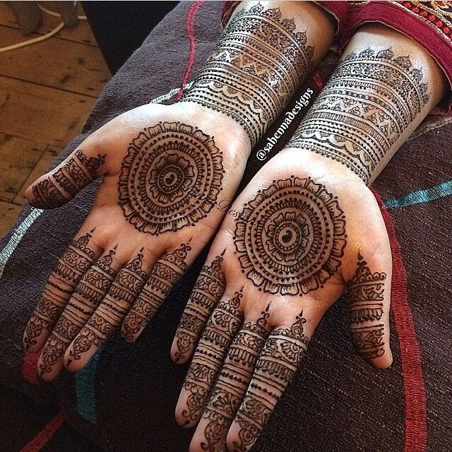 Love this so much!  Very talented @sahennadesigns #henna #mehendi #mehndi