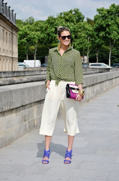 How to Wear Culottes in Style - Glam Bistro