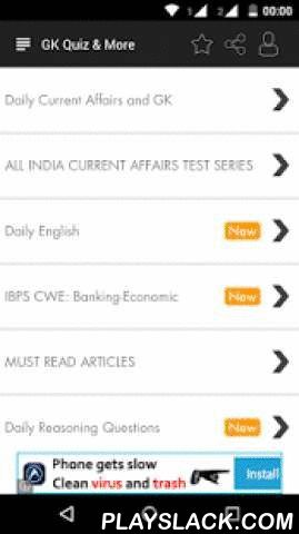 Daily Current Affairs & GK  Android App - playslack.com ,  2016 Hindi and English daily GK (General Awareness), current affairs, business and English Language questions given in the form of a sample paper, ideal if you are preparing for competitive exams