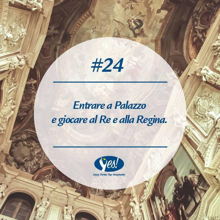Un'#emozione che solo #PalazzoReale ti può regalare! #torino #re #regina #piemonte #residenzereali #piedmont #turin