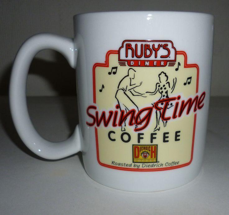 Ruby's Diner Restaurant Swingtime Coffee By Diedrich Coffee Mug