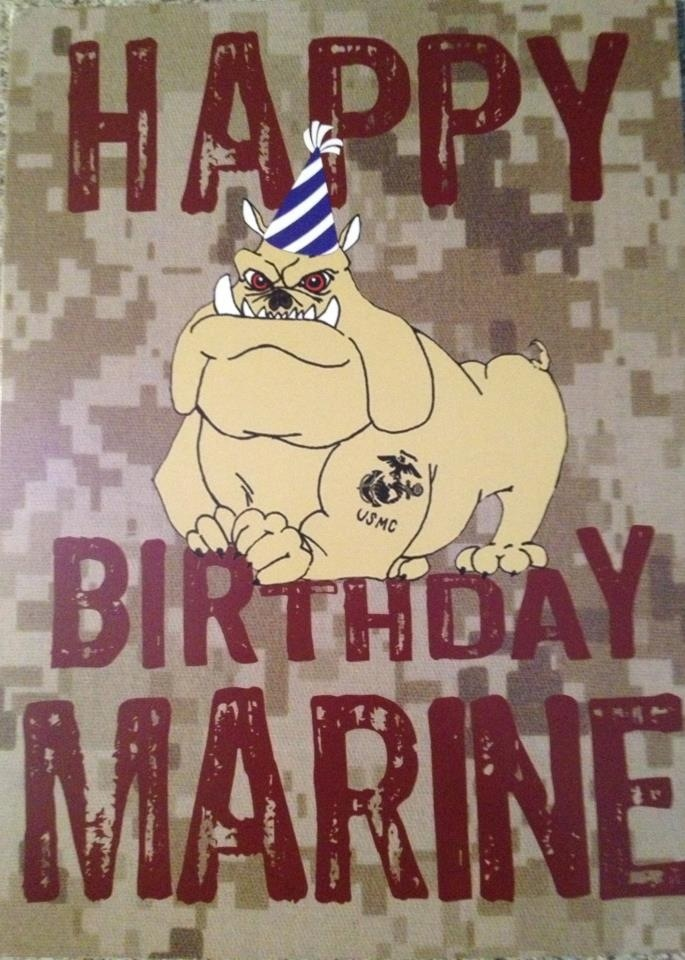 Happy Birthday Marine.