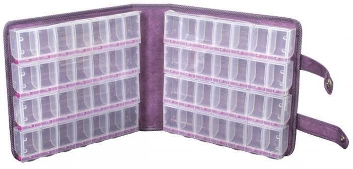 CraftMates Lockables Large Organizer Case - Purple Ultrasuede – Scrapbooking-Warehouse
