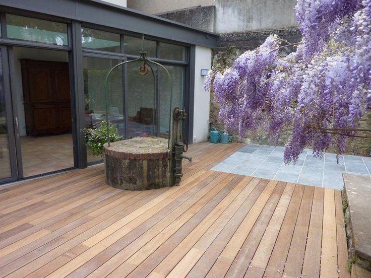 70 best images about terrasse et pergola on pinterest - Terrasse bois et pierre ...