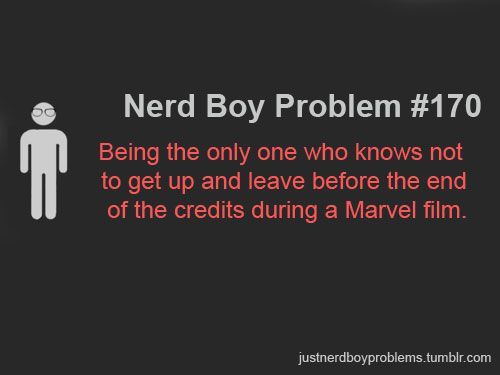 You don't just LEAVE! My sister has yet to grasp this truth. /// Why is this only a nerd 'boy' problem?