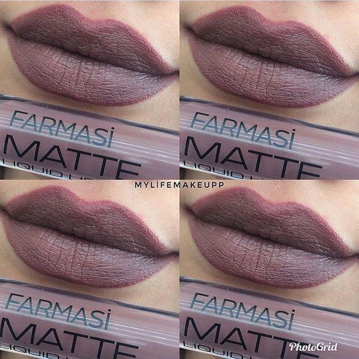 @mylifemakeupp ・・・ Farmasi liquid matte lipstick 106 numara  Soğuk tonlu harika bir ruj  . . #makeup #makeup#makeupjunkie #makeuplover #makeuplove #mattelipstick #dianamonroe #lipstick #lip #beauty #ruj #rujsuzgezmeyenlerklubu #life #like #likeforlike #like4follow #lipstickjunkie #blog #beautyblogger #makeuplook #makyaj #makyajblogu #myrujum #makyajgunlugu #kesfetteyim2485