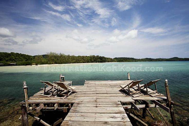 Speedboat pier @ Away Resort Koh Kood (Thailand)