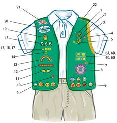 Badge Explorer - Girl Scouts