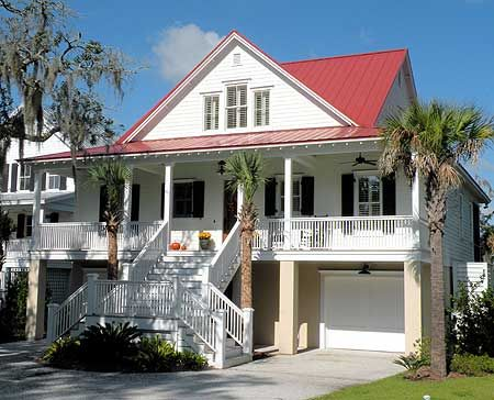 25 best ideas about low country homes on pinterest for Best drive under house plans