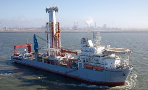 #Offshore #drilling vessel Noble Globetrotter II