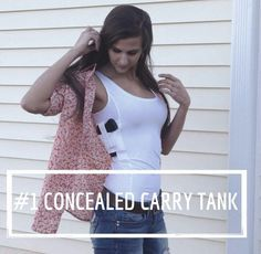 Concealed carry tank