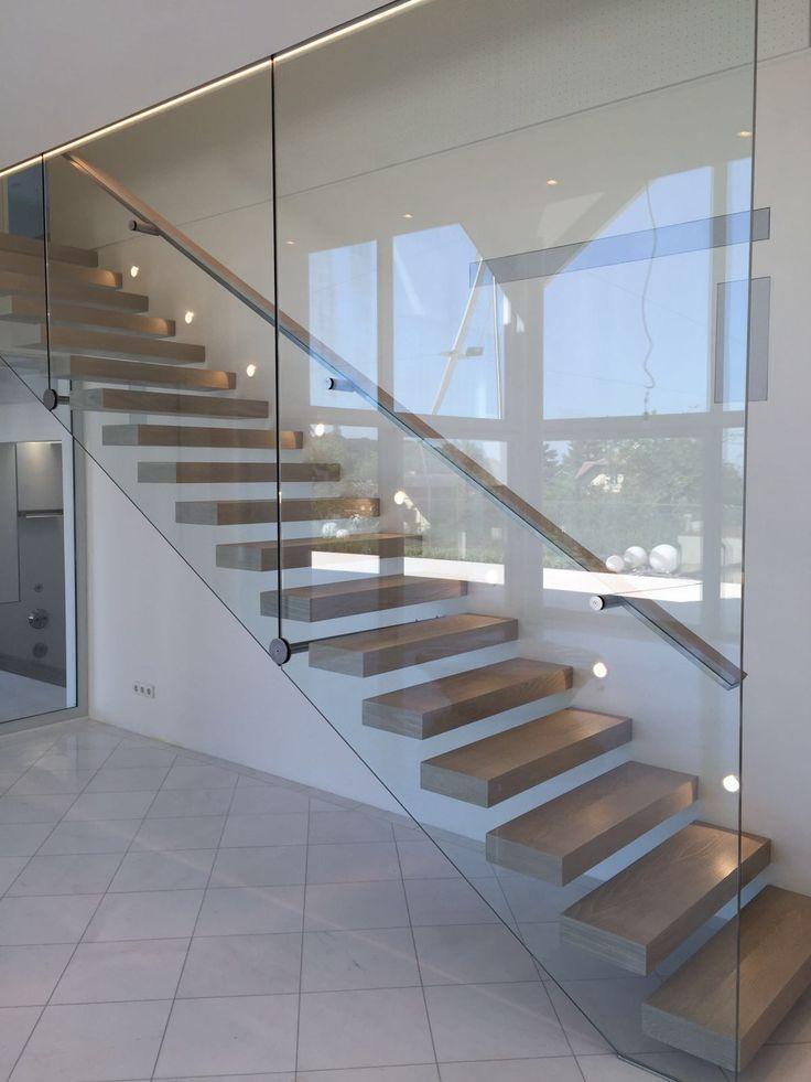 Millesime atelier 220mm wide ab grade #oak #engineeredoak #flooring #interior #woodflooring #luxurymaterials #engineered #kitchen #timber #vienna #austria #staircase #floatingstaircase #stairs #glass #glasswall #handrail