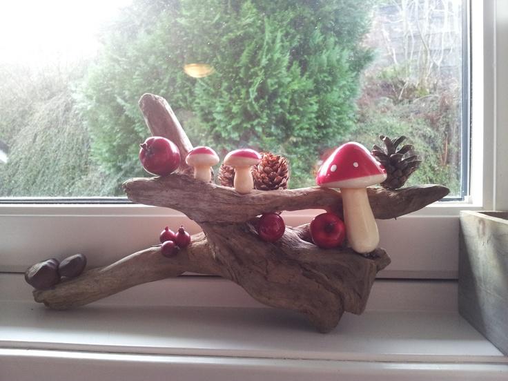 Homemade christmasdecoration!