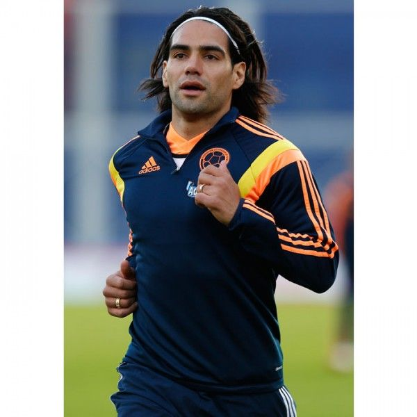 Radamel Falcao, Colombia - The 50 Sexiest Soccer Players at the 2014 World Cup - Shape Magazine