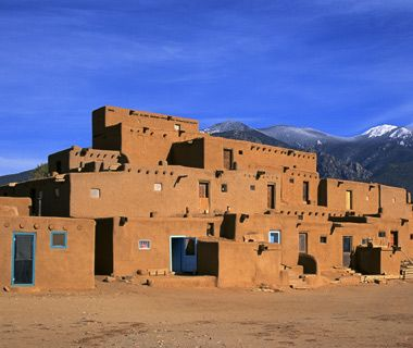 indian adobe houses - photo #23