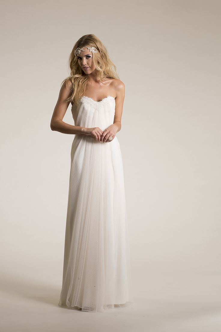 Lace and Novelty , Netting and Tulle,Strapless, Sweetheart,Sheath - Daydream | Amy Kuschel