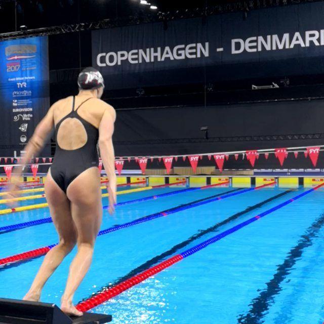 Pool is nice in Copenhagen 🙌 #IronNation #IronLady #IronAquatics#HWAPO